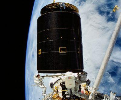 Shuttle Spacewalk