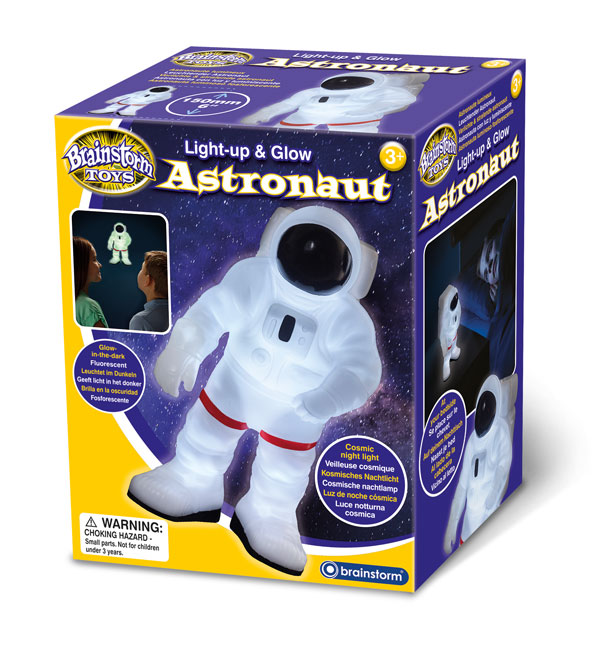 Light Up Glow Astronaut Brainstorm Ltd